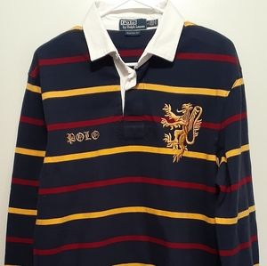 🐎Large Polo Ralph Lauren Longsleeved 3 Button
